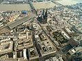 Köln Dom Altstadt Luftbild - cologne aerial (25056740580).jpg