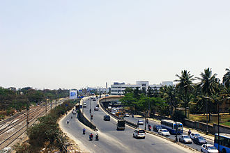 Krishnarajapuram - K.R.Puram outer ring road fly over