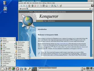 K Desktop Environment 2 - Image: KDE 2.2.2