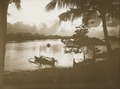 KITLV - 158778 - Kurkdjian - Sourabaia-Java - Sunset on the Manado River at Manado - circa 1900.tiff