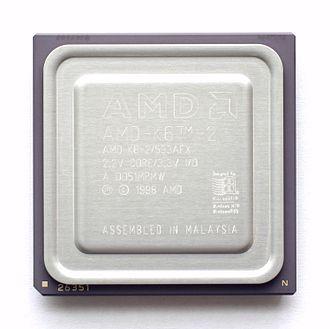 AMD K6-2 - AMD K6-2, Chomper-XT.