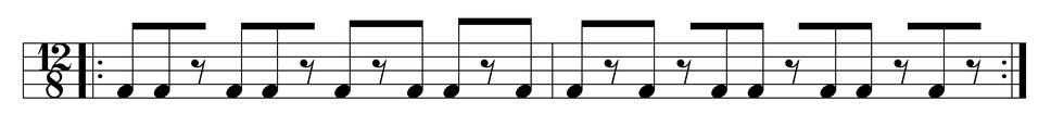 Kadodo bell pattern