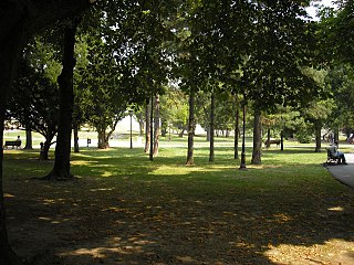 Kalemegdan Park Park in Belgrade, Serbia