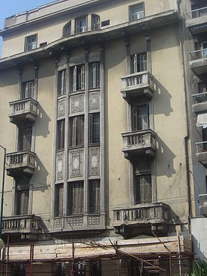 Maria Callas - The apartment house in Athens where Callas lived from 1937 to 1945