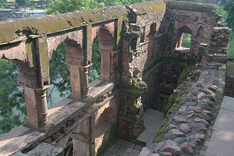 Dost Mohammad of Bhopal - Ruins of Rani Kamlapati's palace