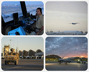 Kandahar International Airport - Image: Kandahar International Airport collage
