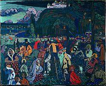 panouissement artistique 1896 1911modifier modifier le code - Wassily Kandinsky Lebenslauf