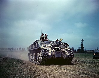 M4 Sherman variants - Sherman ARV MK I, Recovery vehicle, photographed around Caen in July–August, 1944