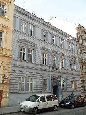 Karel Pešek - Birthplace of a Karel Pešek in 9 Komenského street in Olomouc.
