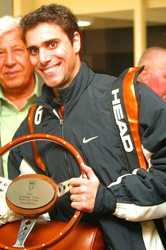 Karim Darwish - Darwish after winning the 2009 Motor City Open