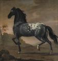 Karl XIs livhäst Blå Tigern (David Klöcker Ehrenstrahl) - Nationalmuseum - 14800.tif