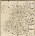 Kartblad 123-2- Carte over det Første Bergenhuusiske Regiments District; versjon 2, 1750.jpg
