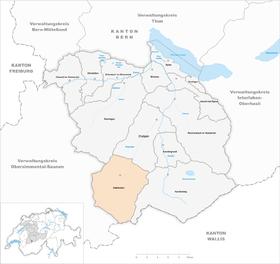 Karte von Adelboden