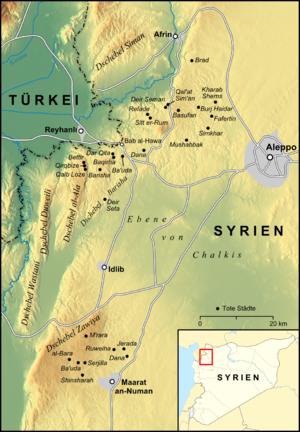 Jabal Zawiya - Mount Zāwiya part of the southern group of the Limestone Massif