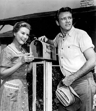 Richard Crenna - Crenna and Kathleen Nolan in The Real McCoys, 1960
