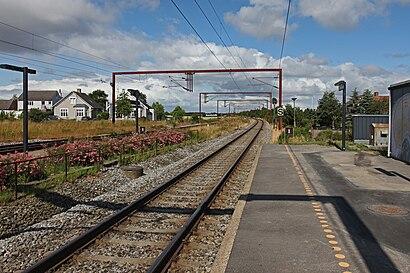 Sådan kommer du til Kauslunde St. med offentlig transport – Om stedet