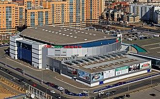 TatNeft Arena - Image: Kazan view from Riviera Hotel 08 2016 img 3