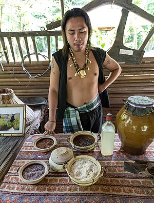 Lihing - Image: Kg Kuai Kandazon Sabah Monsopiad Cultural Village 15