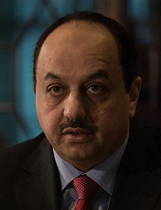 Khalid bin Mohammad Al Attiyah - Image: Khalid bin Mohammad Al Attiyah 20181113 D SV709 0201 (31993029468) (cropped)