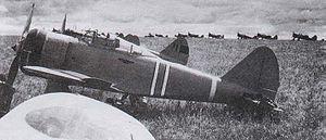 Nakajima Ki-27 - A Ki-27 as used in the Battle of Khalkhin Gol.