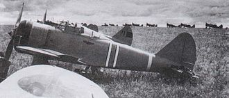 Nakajima Ki-27 - A Ki-27 as used in the Battle of Khalkhin Gol.