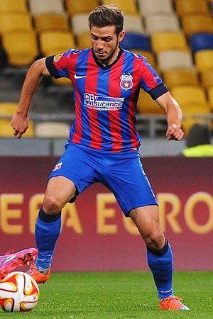 Alexandru Chipciu - Chipciu playing for Steaua București in 2014.