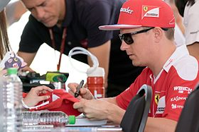 Kimi Räikkönen - the cool, hot,  driver  with Finnish roots in 2018