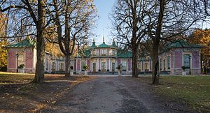 Chinese Pavilion at Drottningholm - The Chinese Pavilion, northern facade, 2016.