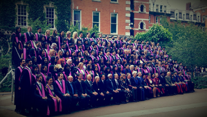 Academic degree - The newly conferred bachelor's degree holders after graduation at King's College London, one of the founding colleges of the University of London
