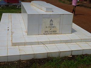 Bopolu - Grave Site of King Sao Boso in Bopolu, Liberia