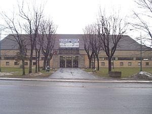 Kingston Memorial Centre - Exterior of Memorial Centre.