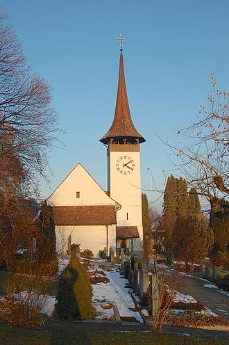 Gerzensee - Gerzensee village church