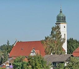 Die Pfarrkirche St. Maria, Patrona Bavariae in Ulbering