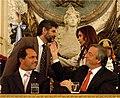 Kirchner, Scioli, Filmus y Fernández en la presentación de Ley de Financiamiento Educativo.jpg