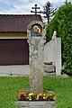 Kirchschlag - Granitpfeiler Rosenkranzgeheimnis - vor Eben 26.jpg