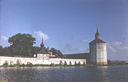 Kirillo-Belosersky monastery. View over the lake