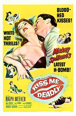 Kiss Me Deadly (1955) standard one-sheet.jpg