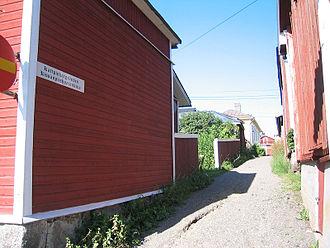 Kristinestad - Image: Kissanpiiskaajankuja