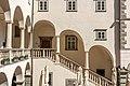 Klagenfurt Innere Stadt Landhaushof 1 Landhaus nordseitige Treppe und hofseitiger Laubengang 19042019 6545.jpg