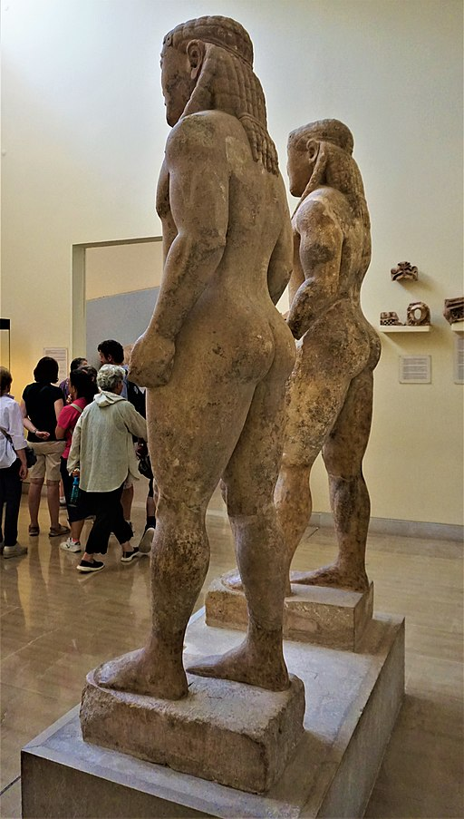 Kleobis and Biton - Delphi Archaeological Museum by Joy of Museums - 2