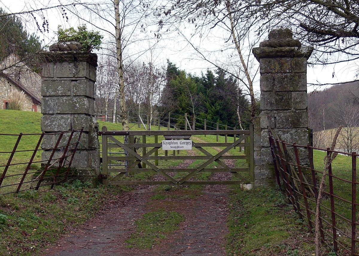 knighton gorges manor wikipedia