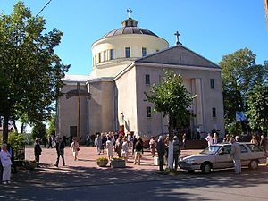 Głowno - St. Jacobs church in Głowno