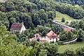 Kobolzeller Kirche seen from Alte Burg - Rothenburg ob der Tauber - Germany 2017 (2).jpg