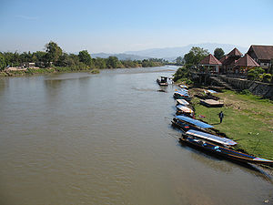 Kok River - The Kok River in Amphoe Mae Ai, Chiang Mai Province