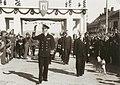 Kongebesøk 1945 - King Haakon visits Trondheim in August 1945 (3807224607).jpg