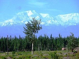 Kongur Tagh - Kongur Tagh II peak