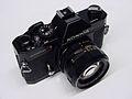 Konica Autoreflex T3N black enamel ¾ top right view.jpg