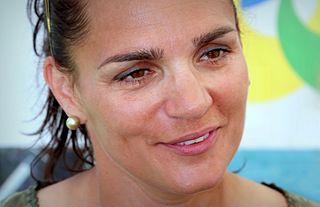 Katalin Kovács Hungarian sprint canoer (born 1976)