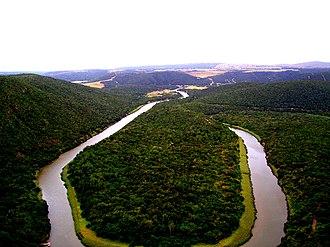 Kowie River - The Kowie River near Bathurst