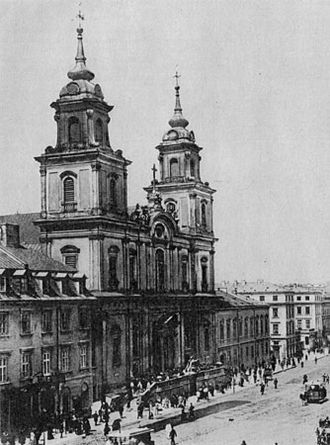 Holy Cross Church, Warsaw - Image: Krakowskie 016